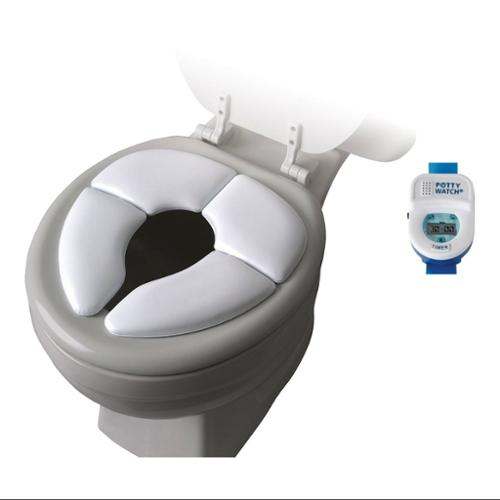 Cushie Traveler with Potty Watch Training Aid, Blue