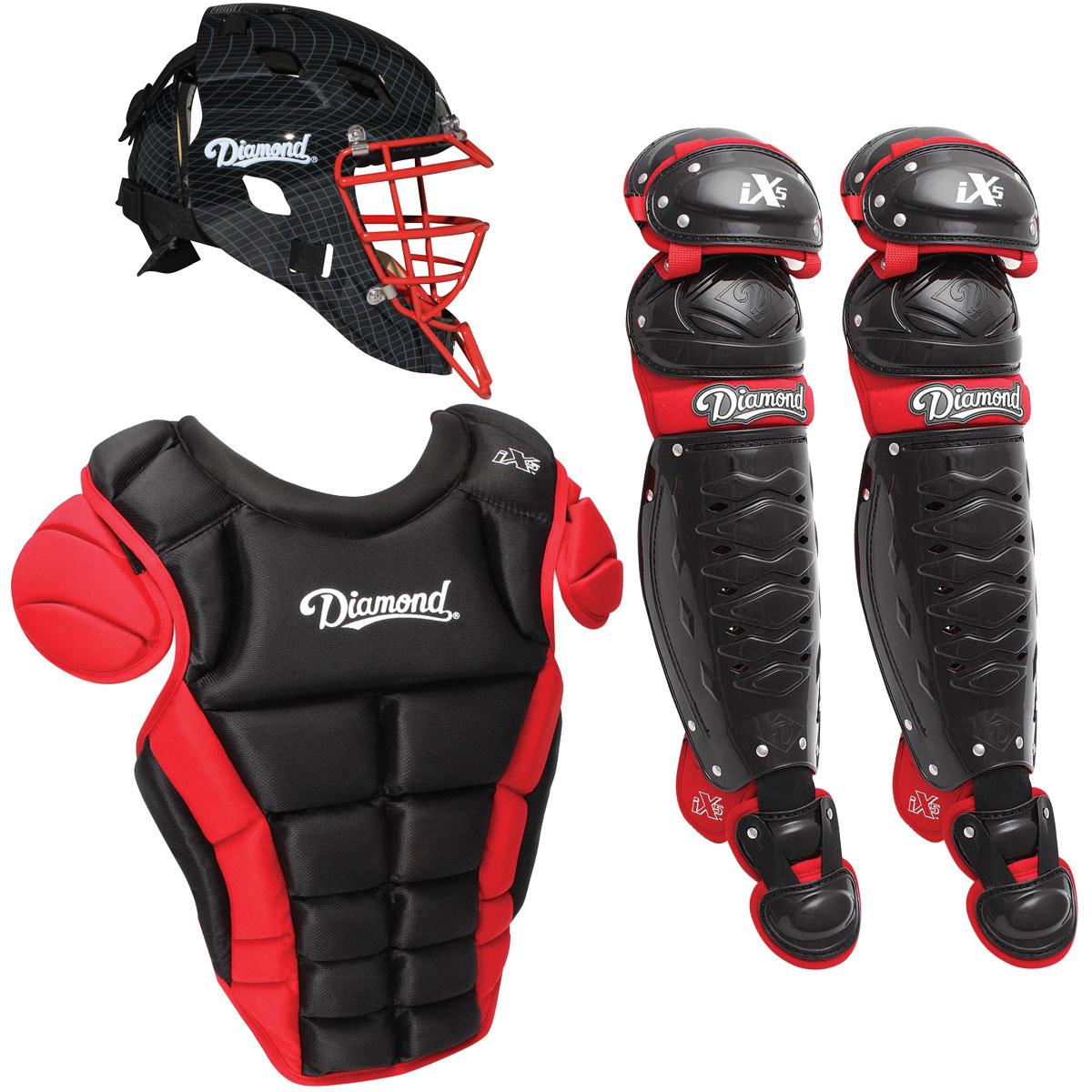 Diamond iX5 Pro Adult Baseball Catcher's Package