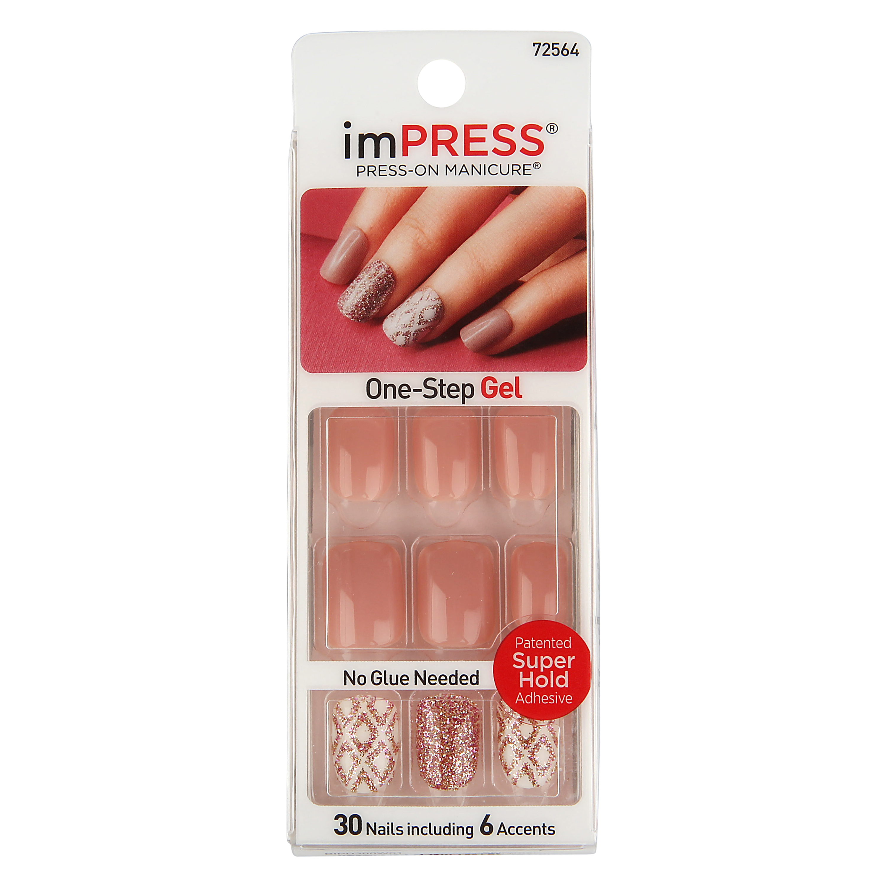 ImPRESS Press On Manicure, Shimmer