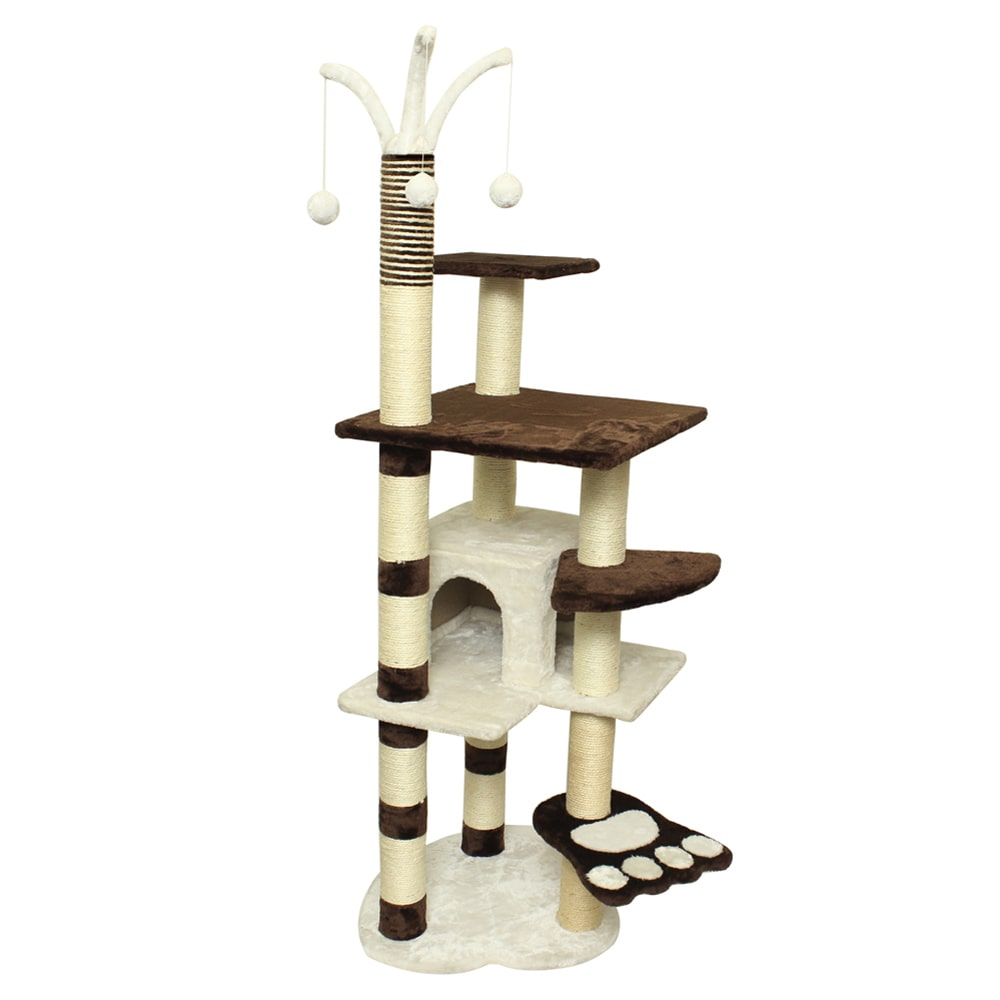 Premium Cat Tree Tower Condo Scratch Furniture, 64\ by Overstock