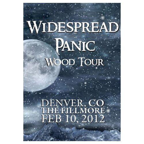 Widespread Panic Wood Tour Denver, CO The Fillmore Feb. 10, 2012 (2012)