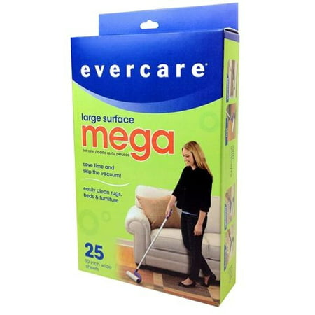 Evercare Large Surface Mega Stick, 25 Sheets