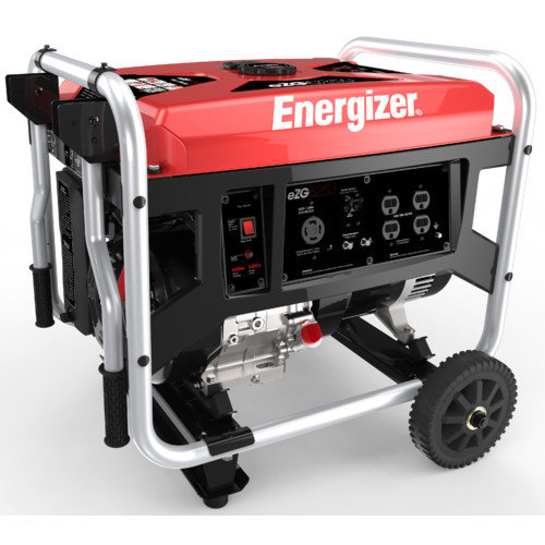 ENERGIZER 6,250 Watt Portable Gasoline Generator with Manual Recoil Start