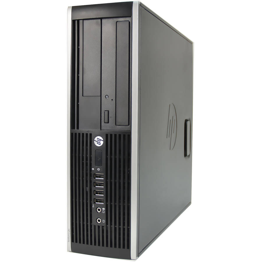 Refurbished HP Compaq 6300-SFF Desktop PC with Intel Core i5-2400 Processor, 8GB Memory, 2TB Hard Drive and Windows 10 Pro (Monitor Not Included)