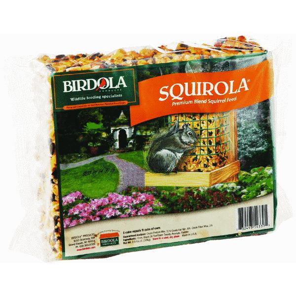 Birdola Squirola Squirrel Food