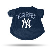 New York Yankees Sparo Pet T-Shirt - Blue