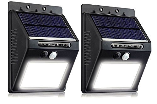 Solar Lights 16 LED Wireless Waterproof Motion Sensor Light for Patio, Deck, Yard, Garden,... by G&F