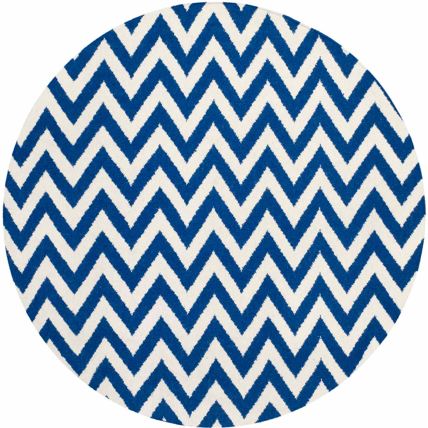Safavieh Dhurrie Bentley Flatweave Chevron Wool Area Rug