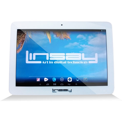 "LINSAY Cosmos F-10XHD4CORE with WiFi 10.1"" Touchscreen Ta..."
