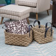 Duval Cove Seagrass Baskets - Set of 3