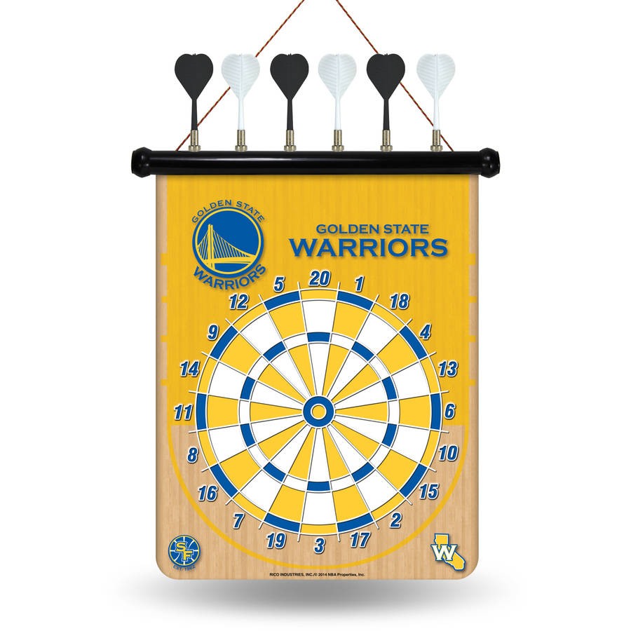Rico NBA Magnetic Dart Set, Golden State Warriors