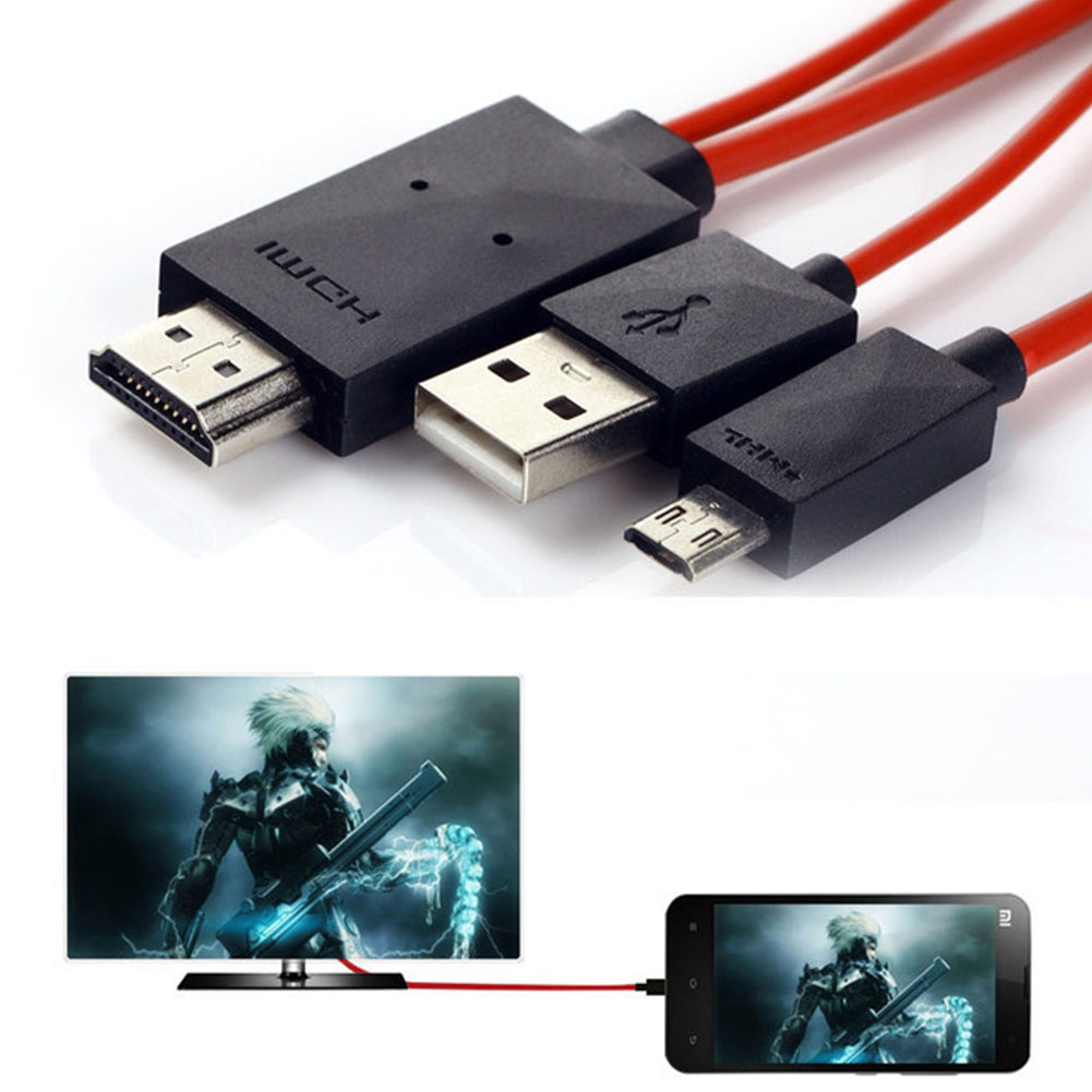 Micro USB MHL to HDMI Cable HDTV Adapter for Samsung