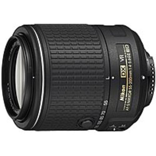 Nikon 55 mm - 200 mm f/4 - 5.6 Telephoto Zoom Lens for Nikon (Refurbished)