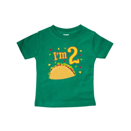 Im Two- taco birthday party Baby T-Shirt](Taco Party Decorations)