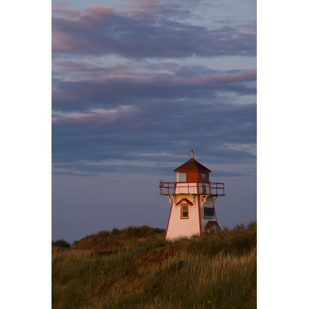 Covehead Lighthouse Prince Edward Island National Park Canvas Art - John Sylvester  Design Pics (11 x (Cove Head)