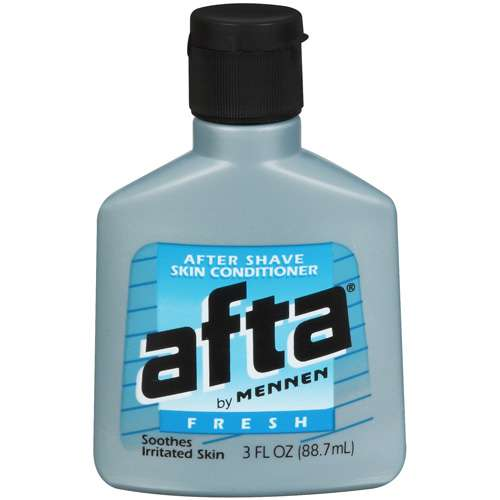 Afta After Shave Lotion and Skin Conditioner, Fresh Scent - 3 fl oz