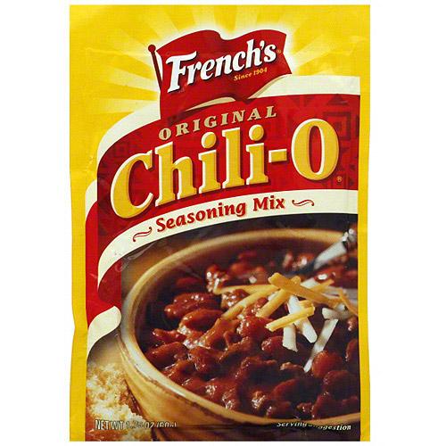 French's Chili-O Original Seasoning Mix, 1.75 oz  (Pack of 18)