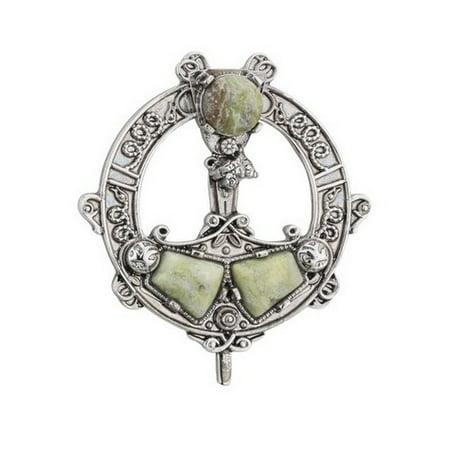 Connemara Marble Tara Brooch ()