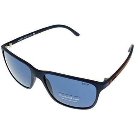 Polo Ralph Lauren Sunglasses Polarized Men Blue 100% UV Protection PH4092 550680 Size: Lens/ Bridge/ Temple: 58-16-145
