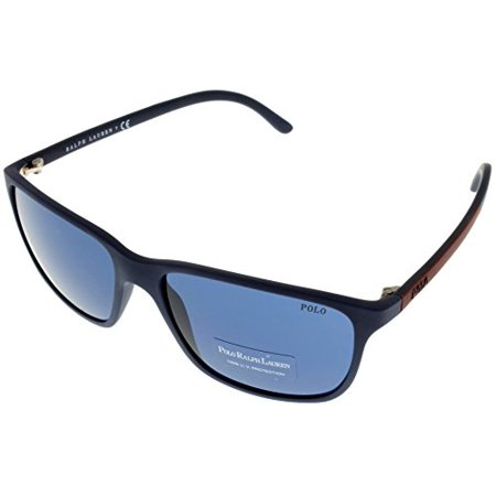 Polo Ralph Lauren Sunglasses Polarized Men Blue 100% UV Protection PH4092 550680 Size: Lens/ Bridge/ Temple: (Polo Ralph Lauren Sunglasses For Men)