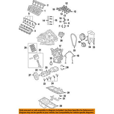 Dodge CHRYSLER OEM 13-15 Challenger-Valve Lifter 5038686AA