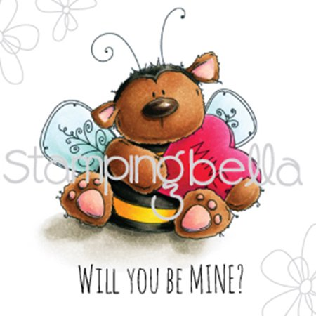 Bee Mine (Stamping Bella Cling Stamp 6.5