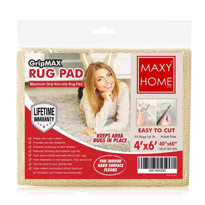 Maxy Home Gripmax GM-4X6 Rug Pad Non-Slip Gripper
