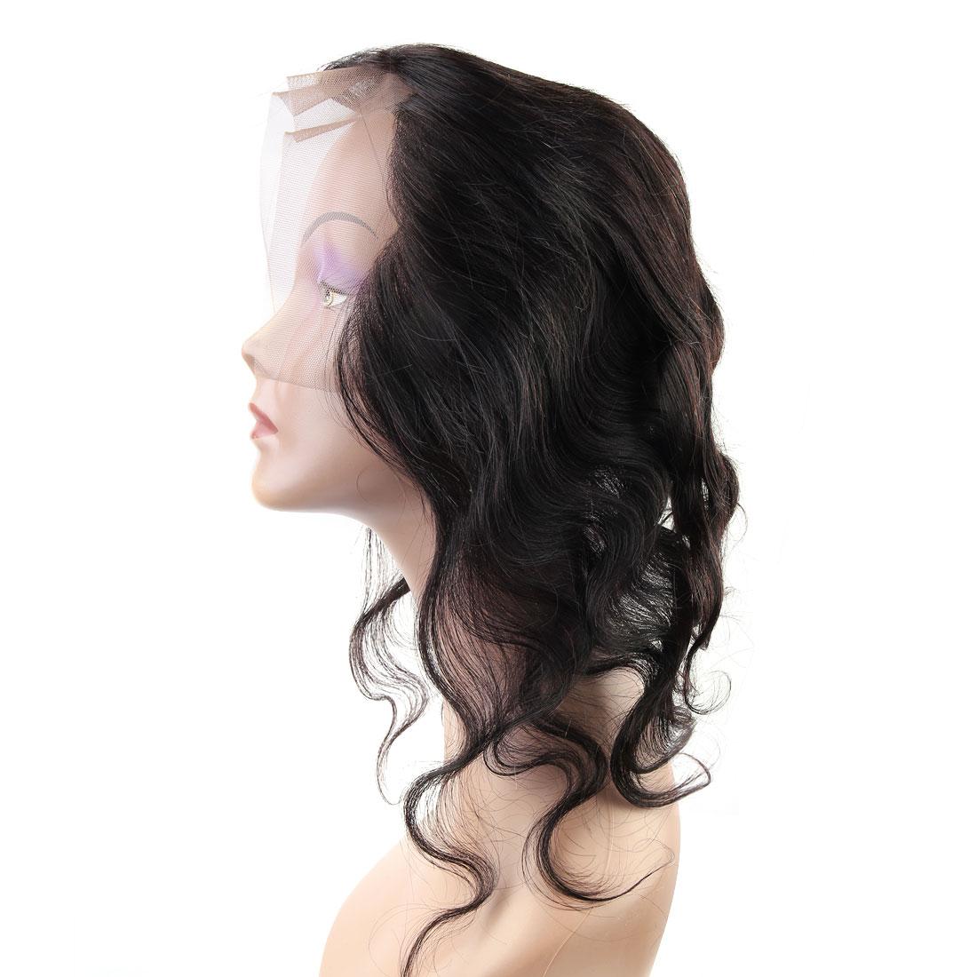 "12"" 13x4 Ear To Ear Lace Closure Free Part Brazilian Hair Extensions Body Wave - image 2 de 7"