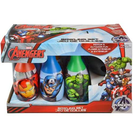 Display Box Set (Avengers Bowling Set in Display Box )