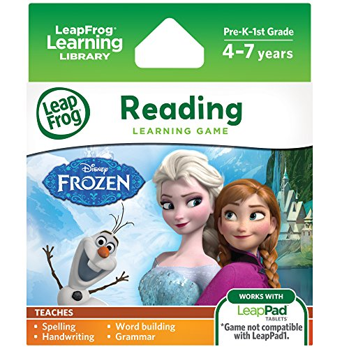 LeapFrog Disney Frozen Learning Game (for LeapFrog Epic, LeapPad Platinum, LeapPad Ultra,... by LeapFrog