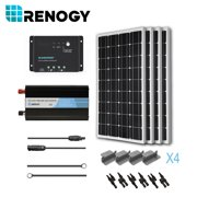 Solar Panel Kit 400 Watts Off Grid Inverter 400W Charge Controller Mount