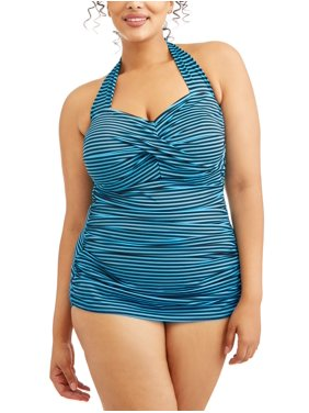 fe1fc48872dd7 Womens Plus Swimwear - Walmart.com