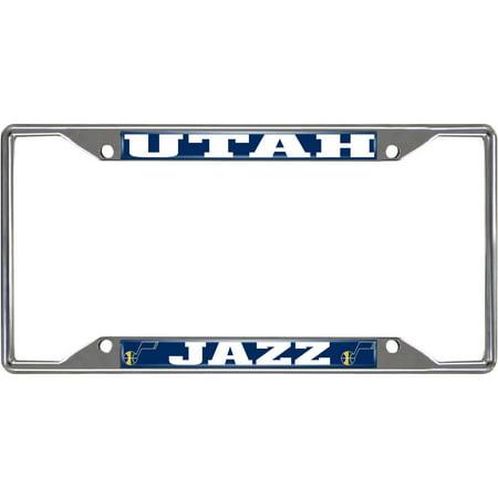 NBA Utah Jazz License Plate Frame (Utah State License Plate)