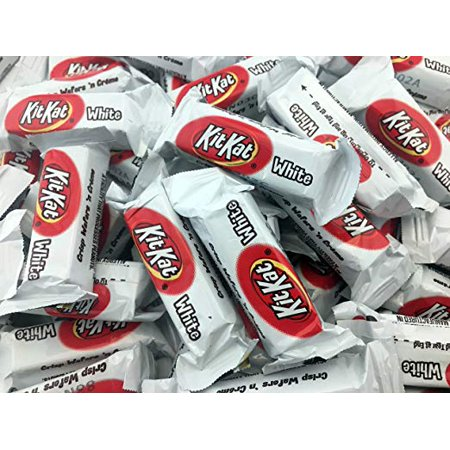 Crisp Wafers'n Cream, Kit Kat White Miniatures, Snack Size, 2LBS](Halloween Kit Kat)