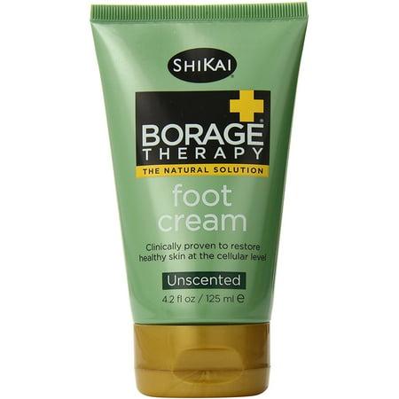 ShiKai bourrache Therapy peau sèche Crème Pieds 4,2 oz (pack de 2)