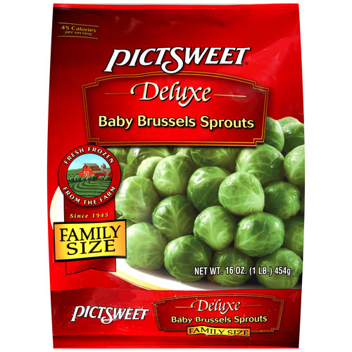 Pictsweet Deluxe Baby Brussels Sprouts, 16oz