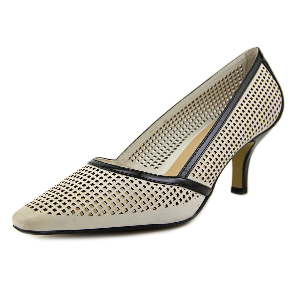 Bella Vita Willa Women W Pointed Toe Leather White Heels by Bella Vita