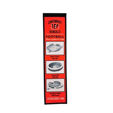 Winning Streak - NFL Evolution Banner, Cincinnati Bengals