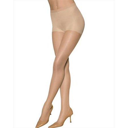 35400 Womens Sheer Energy Control Top St 2-Pair, Suntan Brown - Size B ()