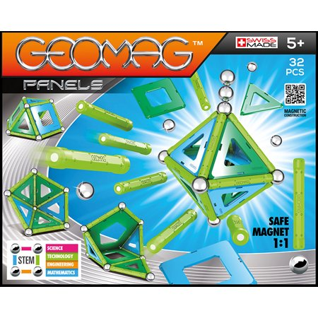 GEOMAG Panels 32 Piece Magnetic Construction Set