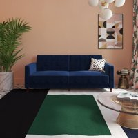 DHP Pin Tufted Sofa Bed in Velvet, Multiple Colors