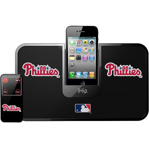 iHip MLB Docking Speaker System with Remote, Philadelphia Phillies