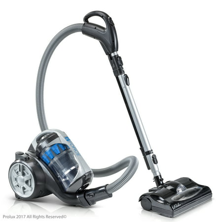 2019 Prolux iFORCE Light Weight Bagless Canister Vacuum Cleaner Hepa Filtration & Power