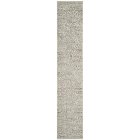 Floral Bordered Area Rug or Runner
