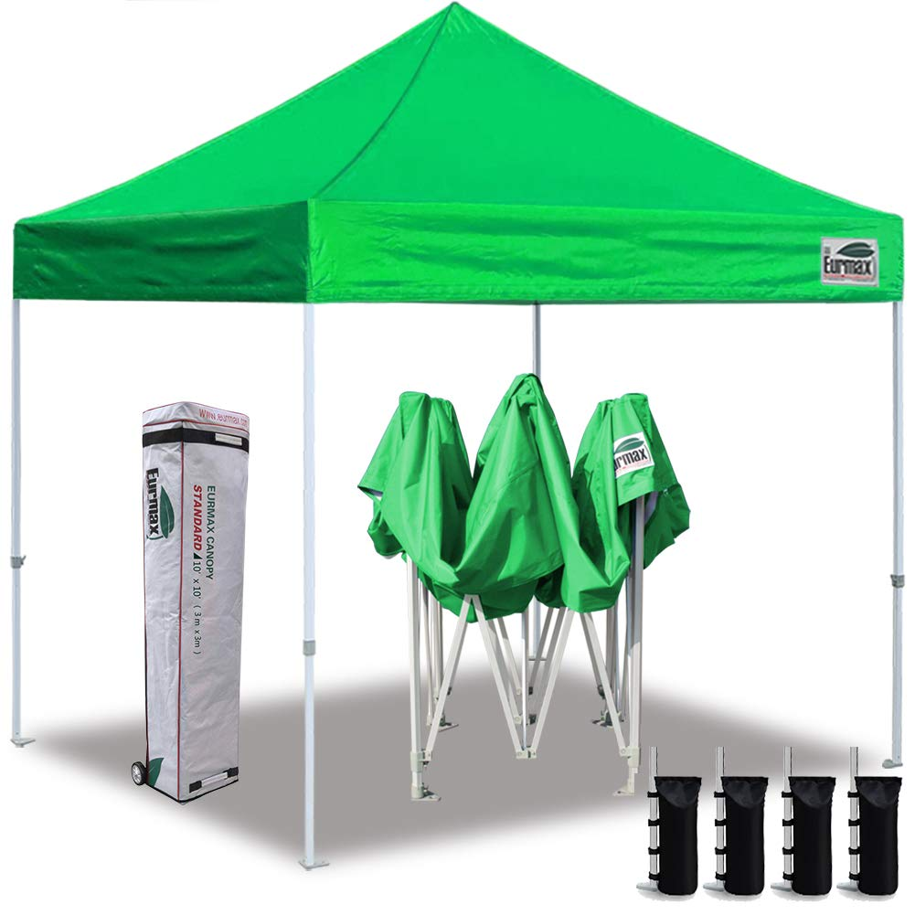 Eurmax 10 X10 Ez Pop Up Canopy Tent Commercial Instant