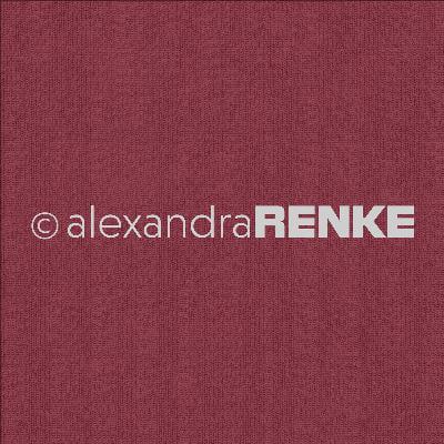"""Alexandra Renke Basic Design Paper 12""""X12""""-Red Knitted"""
