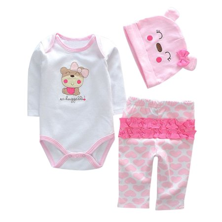 a551af7ed Mosunx Newborn Baby Clothes Reborn Baby Girl Doll Clothes NOT Included Doll  A - Walmart.com