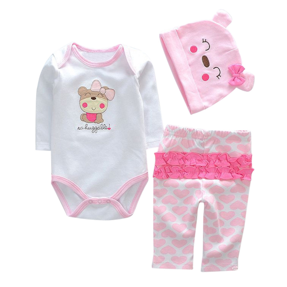 Mosunx Newborn Baby Clothes Reborn Baby Girl Doll Clothes NOT Included Doll A