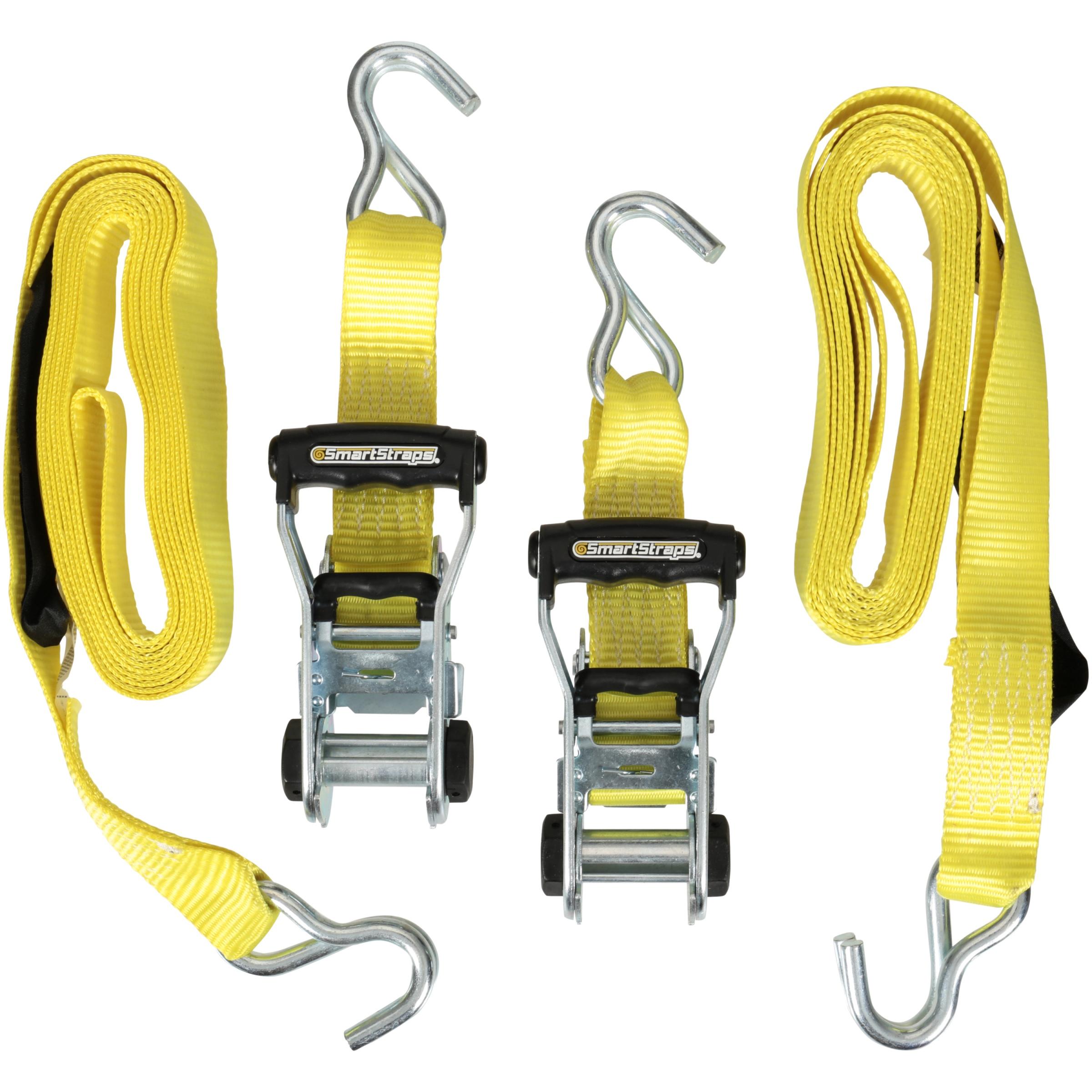 Smart Straps® Ratchet-X® Commercial Tie Downs 2 ct Pack