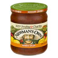 Newman's Own: Mango Medium Salsa, 16 Oz
